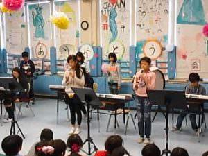 全日制小学部「6年生を送る会」2014年度