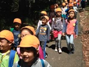 全日制幼児部年長 お泊り保育2015年度