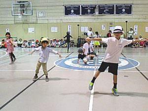 サタデーM校 運動会2016 ダンス部その1