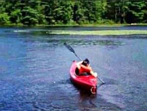 サタデーNJ校6年 校外学習「カヌー漕ぎ」