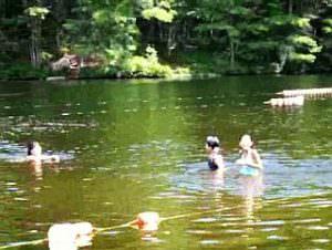サタデーNJ校6年 校外学習「湖水浴」