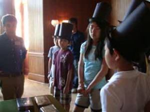 全日制5&6年生 ワシントンDC リンカーンコテージ訪問2