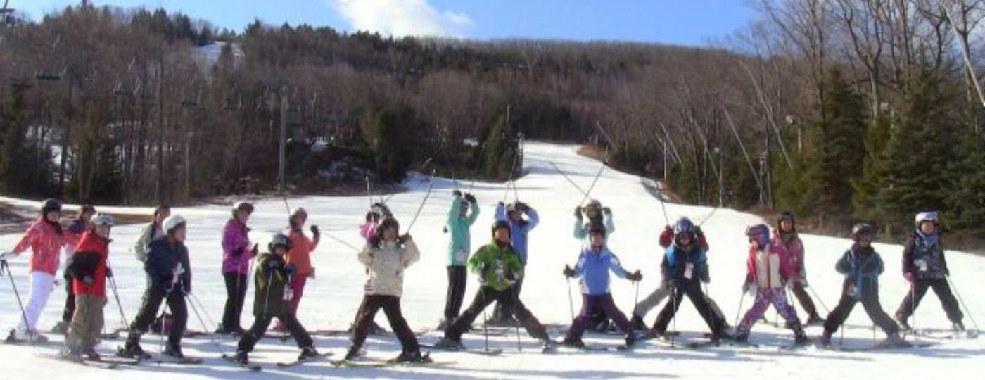 宿泊スキーキャンプ