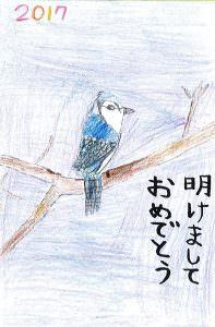 【平成29年 年賀状】西脇 陽那(サタデーNJ小2)