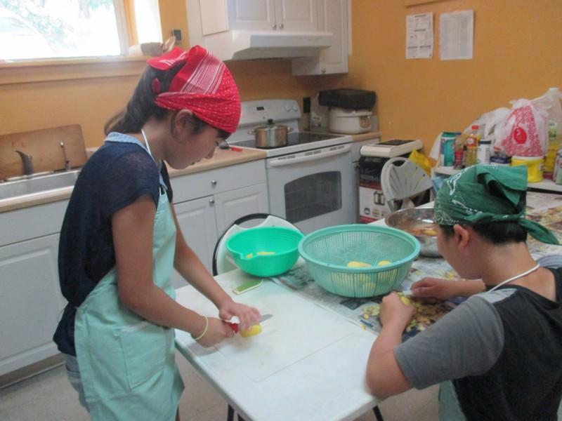 家庭科「調理実習」