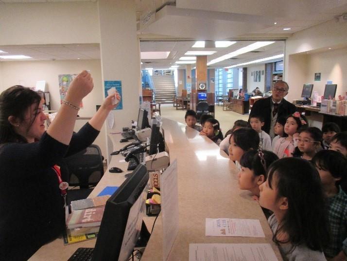 校外学習「図書館見学」
