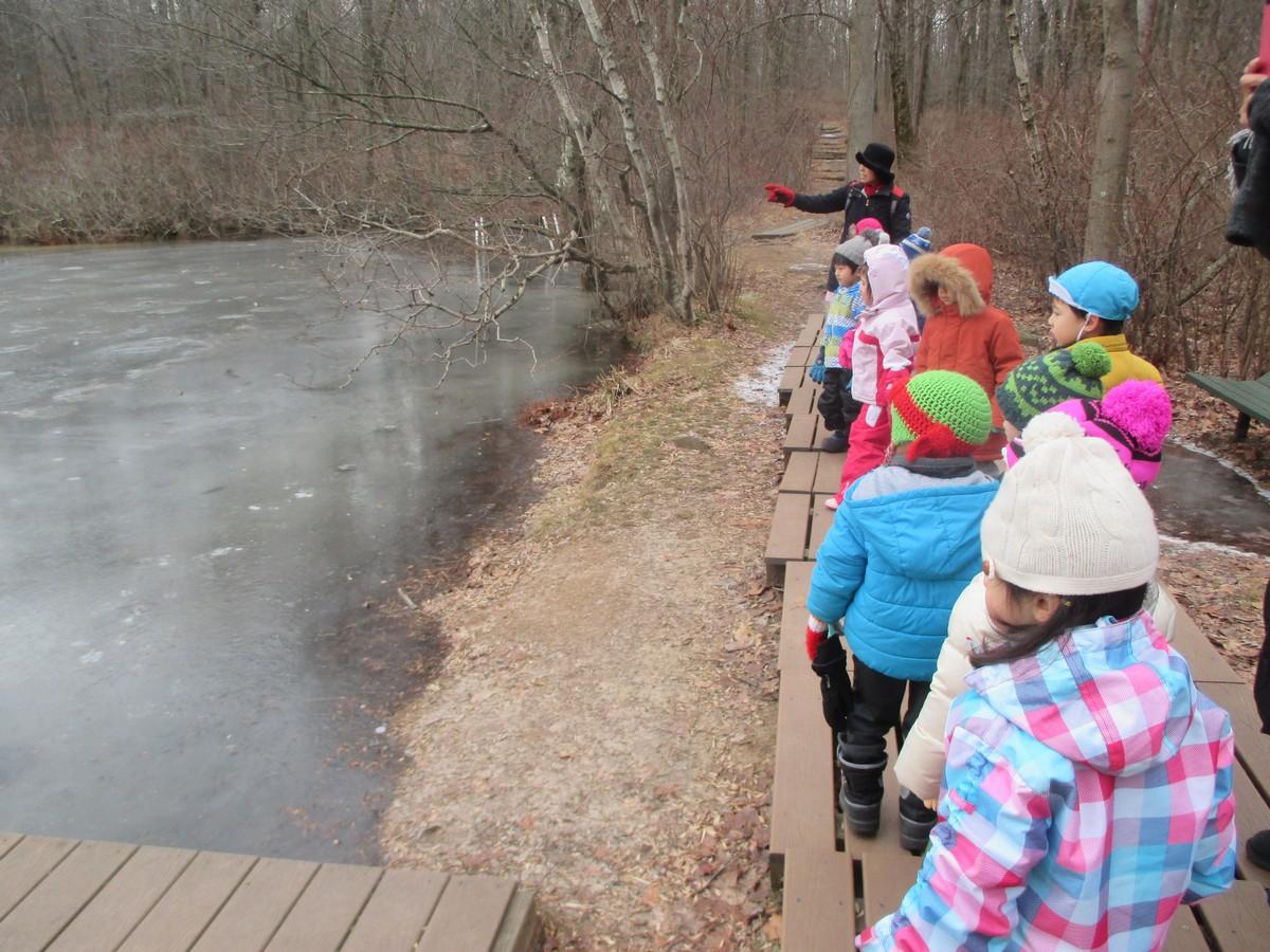 森の幼稚園(自然遊び)-冬-