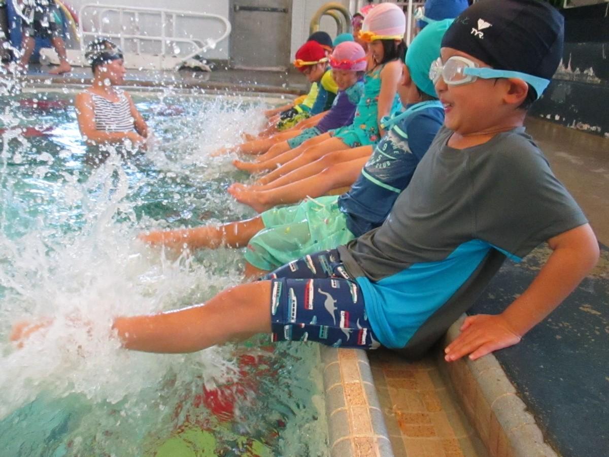 目指せ オリンピック!水泳教室
