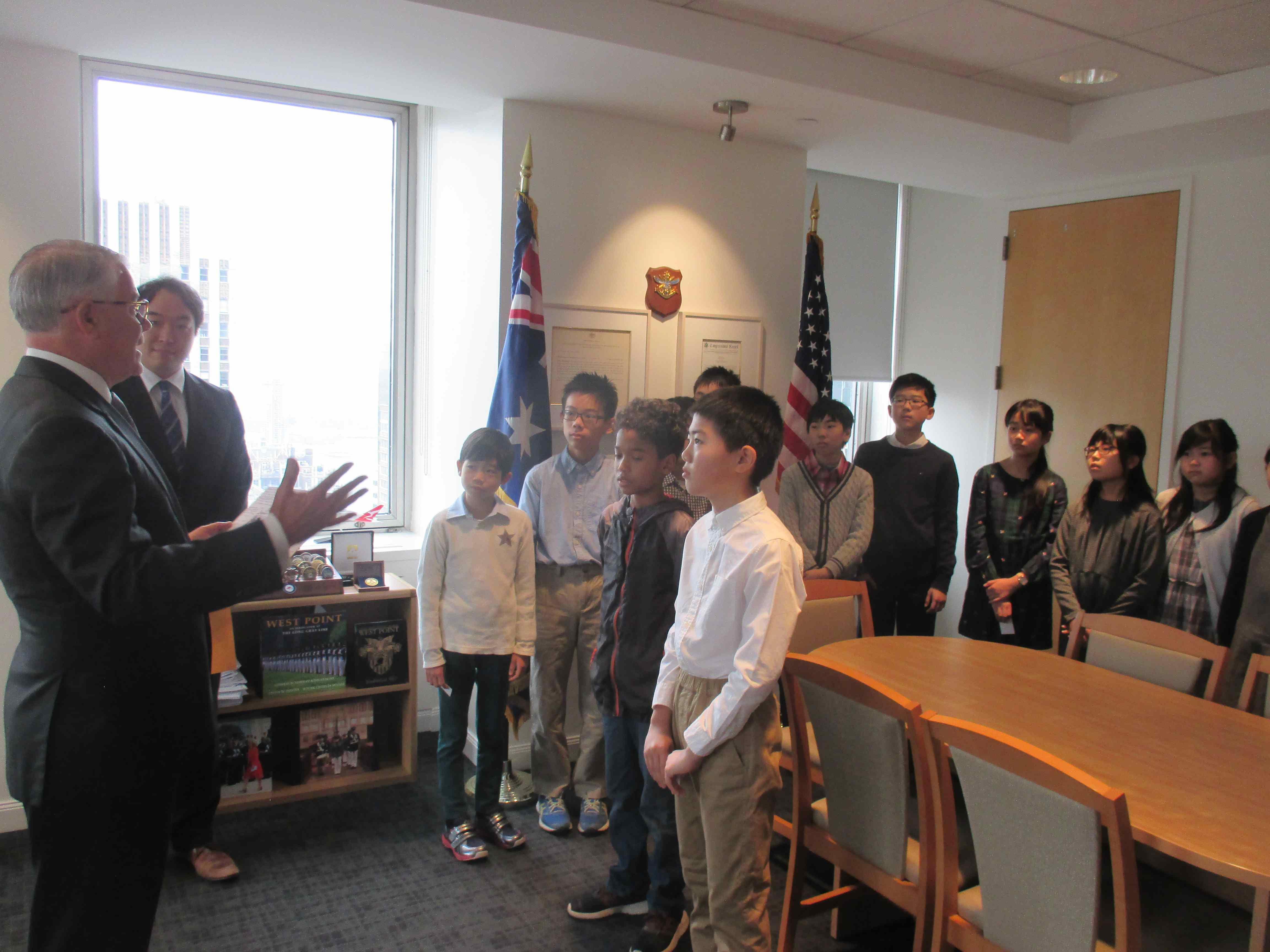 オーストラリア総領事館訪問
